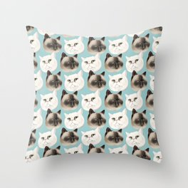 Ming and Wicket Throw Pillow