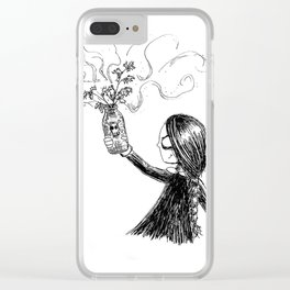 Inktober 2018: Day 1 Clear iPhone Case
