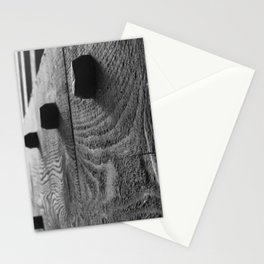 Covered Bridge Wooden Pegs Stationery Cards