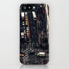 New York City view iPhone Case