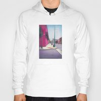 memphis Hoodies featuring Memphis Drawing by wendygray
