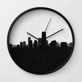 City Skylines: Jersey City Wall Clock