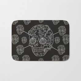 Skull Web Bath Mat