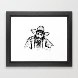 The Stranger Framed Art Print