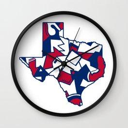 Lone Star State Love Wall Clock
