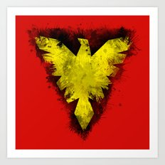 Phoenix - X-Men Art Print