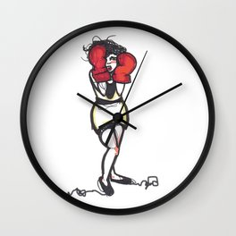 Boxer Clara Wall Clock