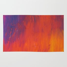 To Add Colour to My Sunset Sky Rug