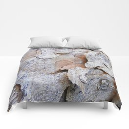 Tree Bark rustic decor Comforters