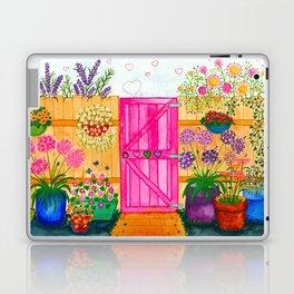Beyond the pink gate Laptop & iPad Skin