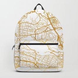 NAIROBI KENYA CITY STREET MAP ART Backpack