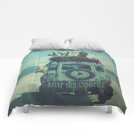 NEVER STOP EXPLORING II SOUTH AMERICA Comforters