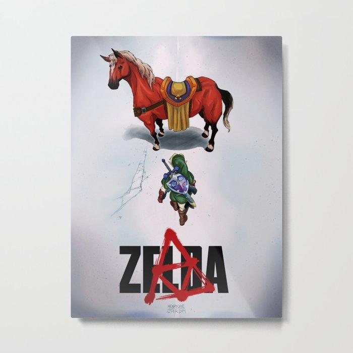 Zelda/Akira Metal Print