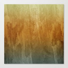 Earthy Water Color Abstract Canvas Print