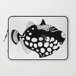 Clown trigger fish Laptop Sleeve