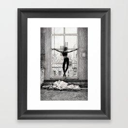 ballerina 3 Framed Art Print