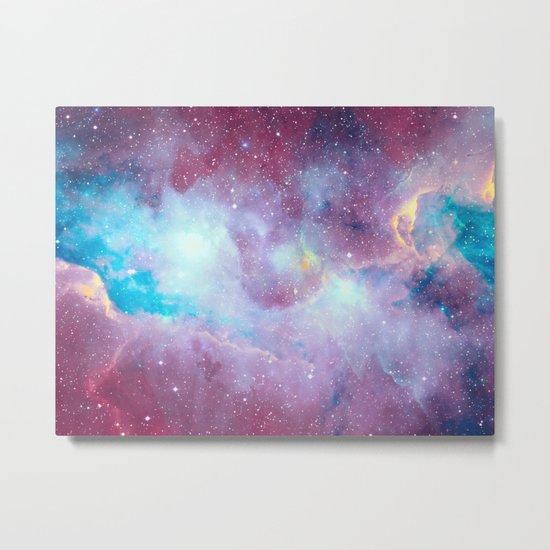 Quartz & Turquoise Galaxy Metal Print