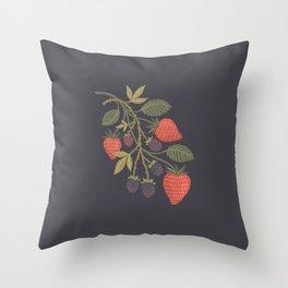 Berry Season Throw Pillow