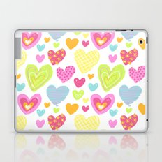 spring hearts Laptop & iPad Skin
