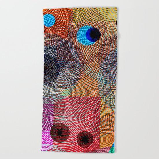 Superposition II Beach Towel