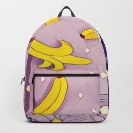 Chimpanzee and banana Backpack