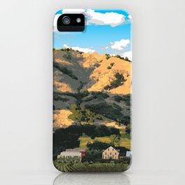 Regusci Winery - Napa Valley iPhone Case