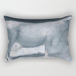Impressions of a Brown Swiss Rectangular Pillow