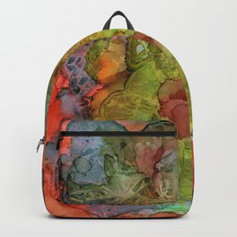 Overall Pattern Wild Colors Backpack