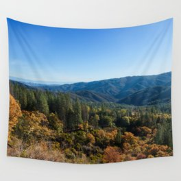 Fall Sunrise Photography Print Wall Tapestry