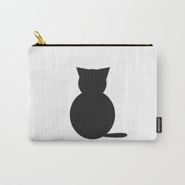 Graphi cat b&w Carry-All Pouch