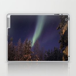 Finland lapland northern lights Laptop & iPad Skin