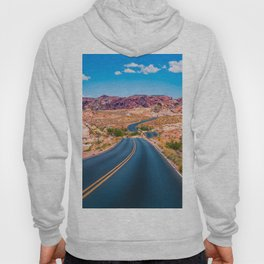 Valley of Fire panoramic road Hoody