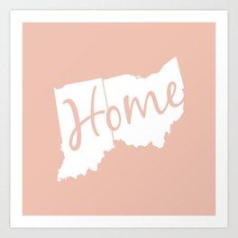 Home (Ohio & Indiana) Art Print