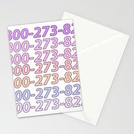Logic Suicide Hotline Stationery Cards
