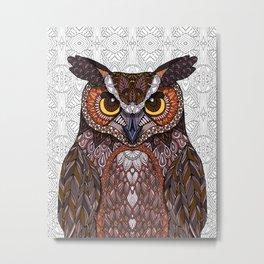 Great Horned Owl 2016 Metal Print