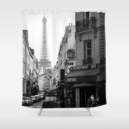 Paris Street Shower Curtain