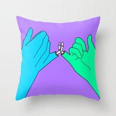 Pinky Promises Last 4eva Throw Pillow