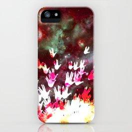H.E.L.L.O. / red iPhone Case