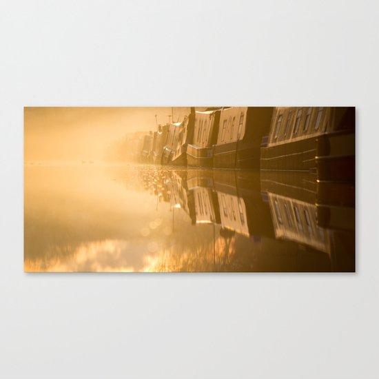 Touching the Dawn Canvas Print