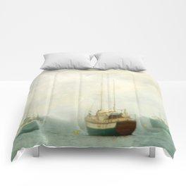 Morning Fog Comforters