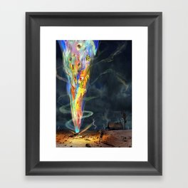 H.P. Lovecraft The Colour Out of Space Framed Art Print