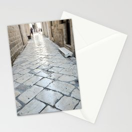 Streets of Dubrovnik Stationery Cards