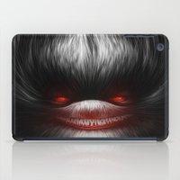 evil dead iPad Cases featuring EVIL by Dr. Lukas Brezak
