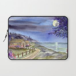 By The Light of The Silvery Moon Laptop Sleeve