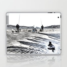 The Waiting Game Art Laptop & iPad Skin