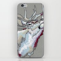 elk iPhone & iPod Skins featuring Elk by Sherie Myers