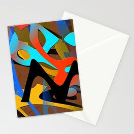 wave fx miro Stationery Cards