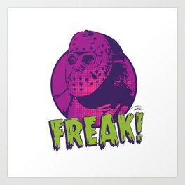 Freak Drawings: Jason Art Print