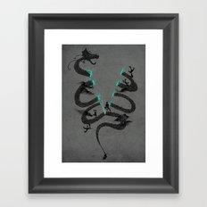 DRA'GONE Framed Art Print