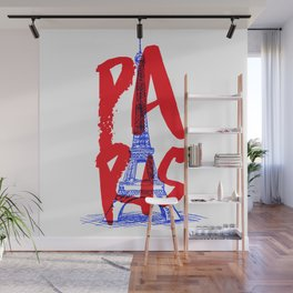 Places: Paris Wall Mural